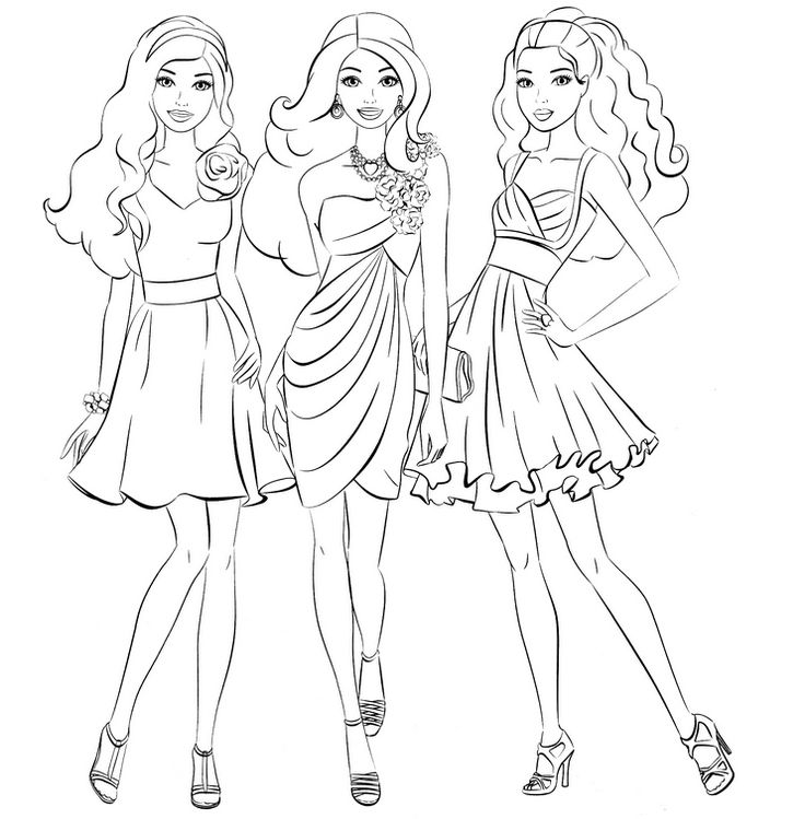 how to draw a barbie princess barbie drawing at getdrawings free download a to how draw princess barbie