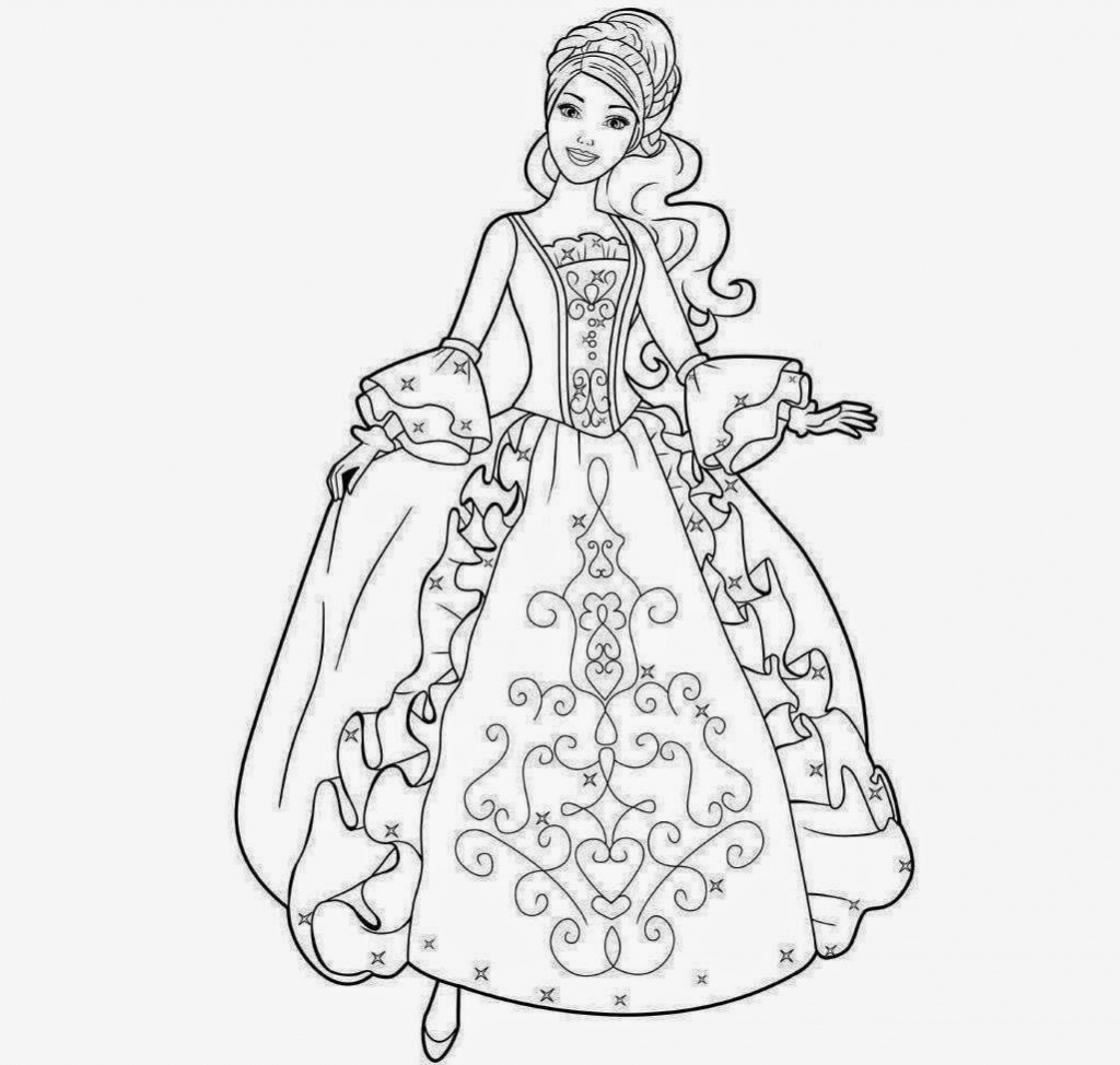 how to draw a barbie princess barbie princess drawing free download on clipartmag a draw to how princess barbie