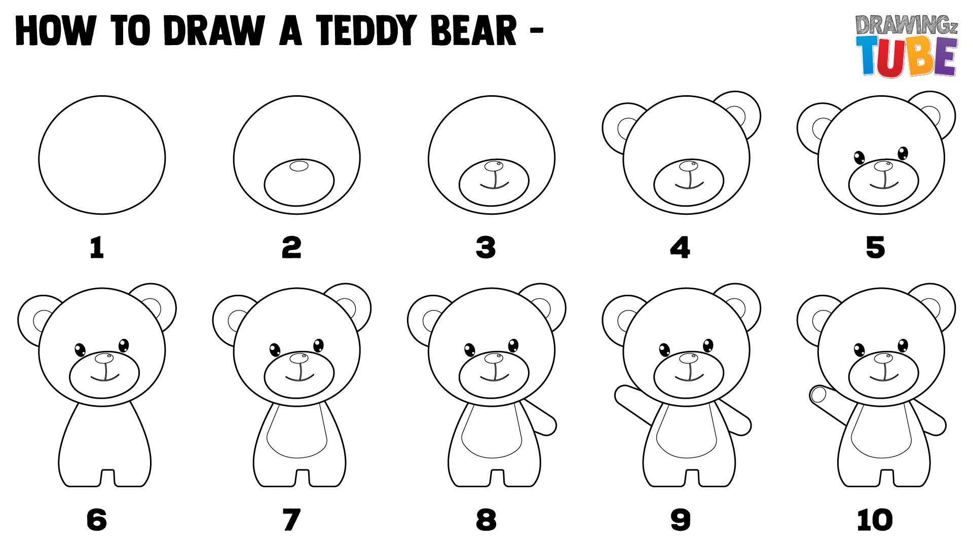 how to draw a bear step by step how to draw a teddy bear step by step tutorial batch a bear to by how step step draw