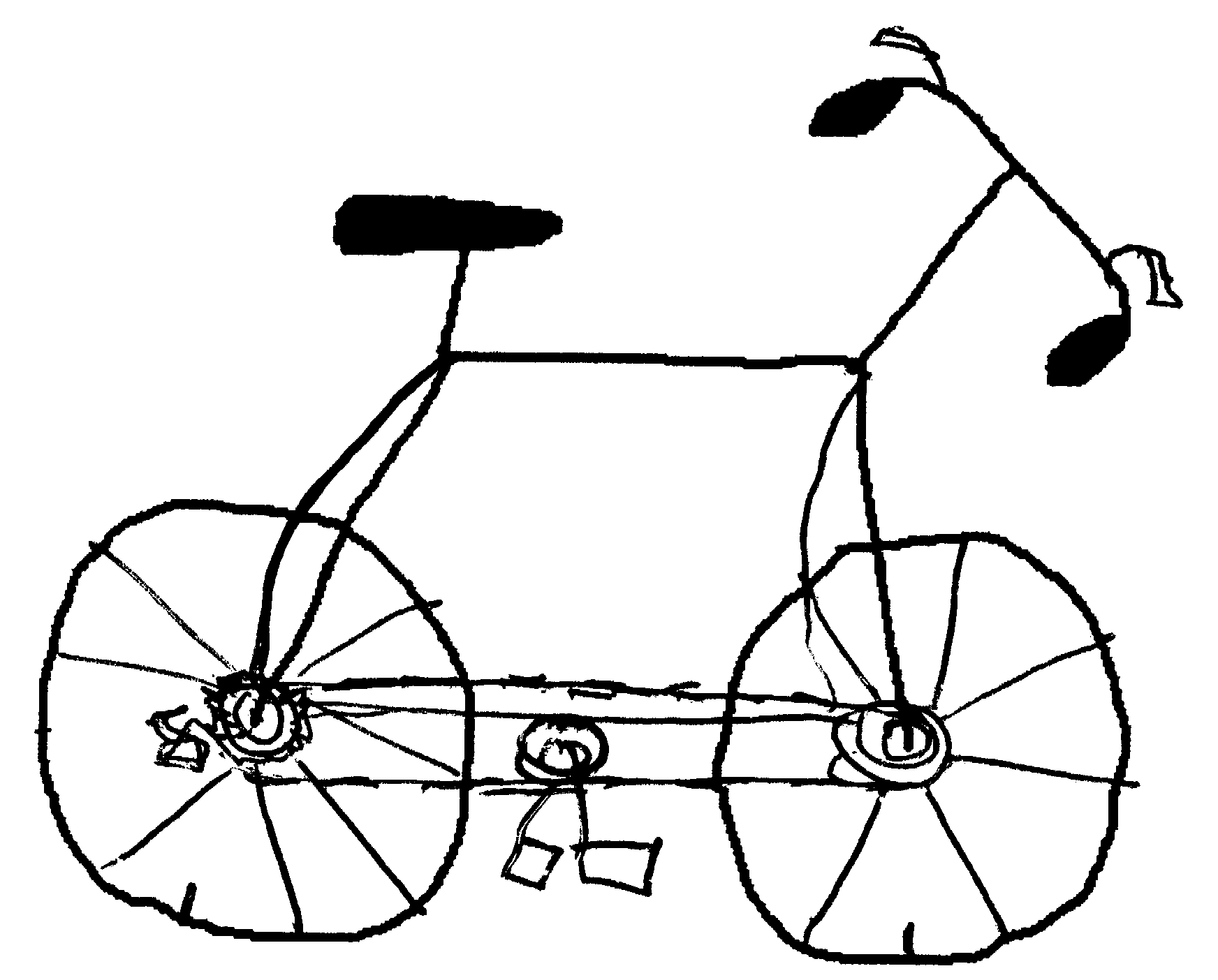 how to draw a bike easy bicycle drawing wallpaper black and white simple bicycle to easy a how bike draw