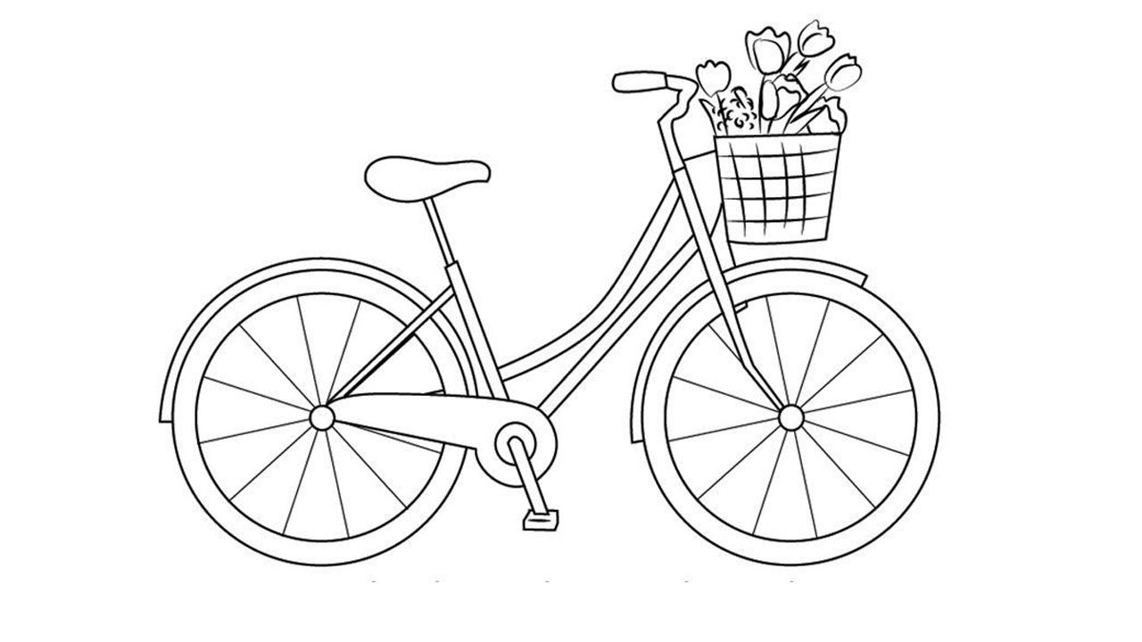 how to draw a bike easy easy bicycle drawing tutorial for girls in 2020 with easy draw bike how a to