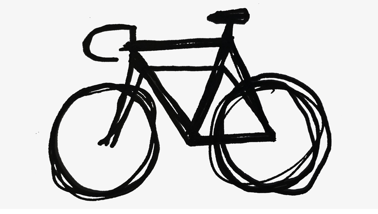 how to draw a bike easy how to draw a bicycle chaz hutton medium easy how a bike to draw