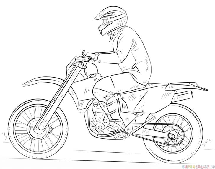 how to draw a bike easy pin on faiz easy to draw how bike a