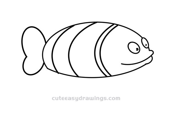 how to draw a clownfish clownfish drawing at getdrawings free download draw clownfish how a to
