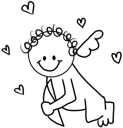 how to draw a cupid cupid cartoon drawing at getdrawings free download draw a to cupid how