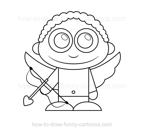 how to draw a cupid cupid cartoon drawing free download on clipartmag cupid how to a draw