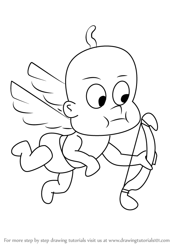 how to draw a cupid cute cupid drawing at getdrawings free download to how draw cupid a