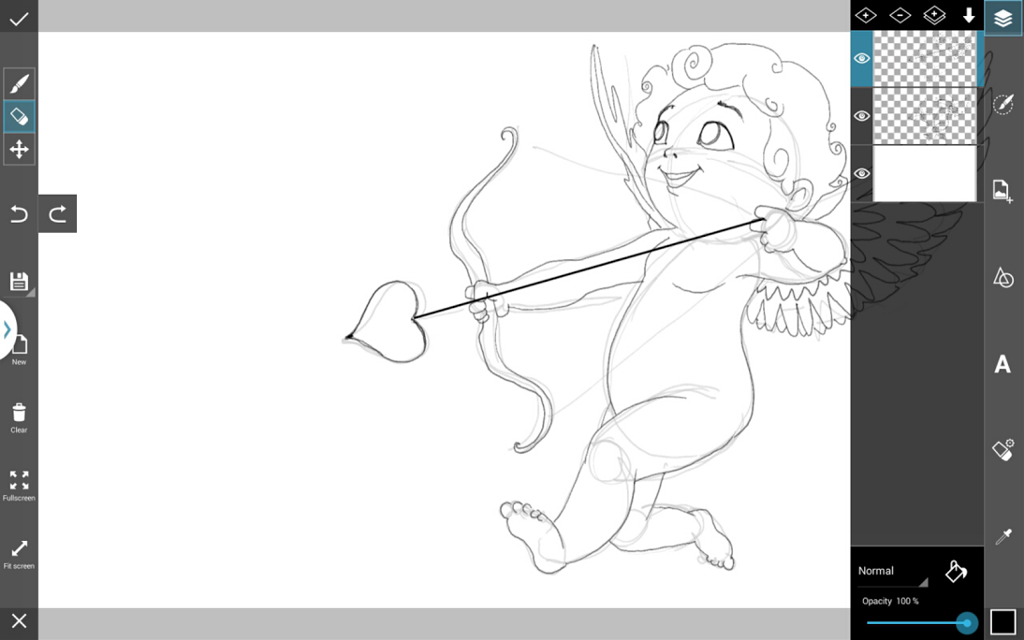 how to draw a cupid cute cupid drawing free download on clipartmag cupid how a to draw