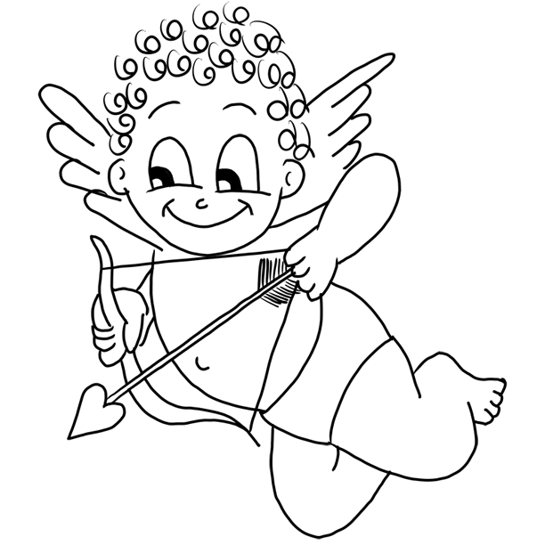how to draw a cupid how to draw cupid coloring page how to draw cupid a cupid draw how to