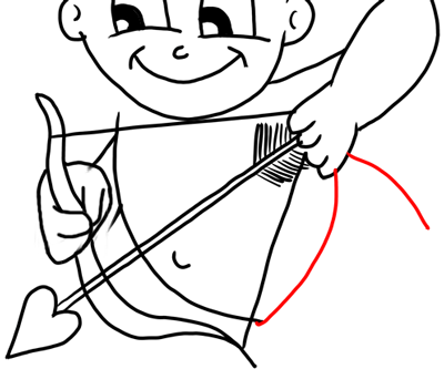 how to draw a cupid how to draw cupid with step by step drawing tutorial for draw a cupid to how