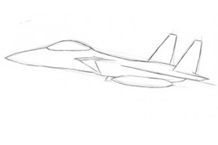 how to draw a fighter jet how to draw a jet easy step by step a jet fighter for draw fighter jet a how to