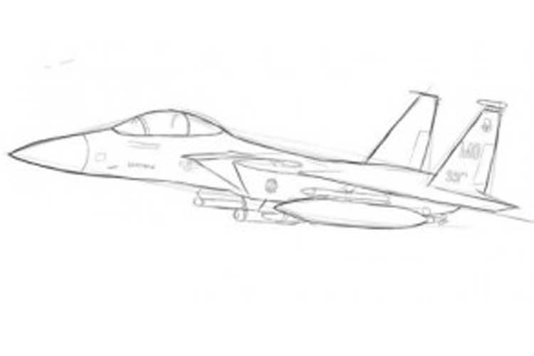 how to draw a fighter jet how to draw a jet easy step by step a jet fighter for draw fighter jet how to a