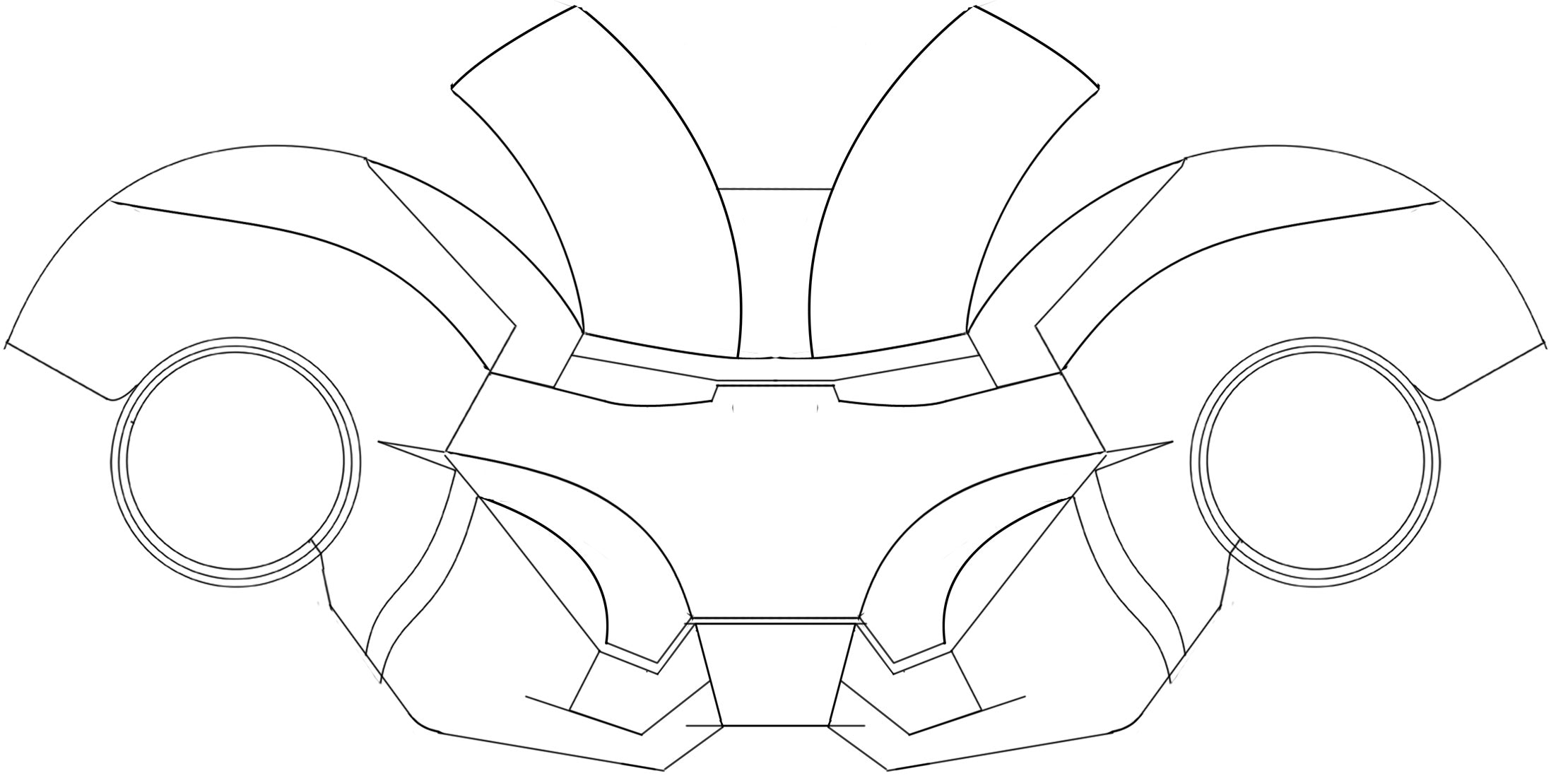 how to draw a iron man helmet easy helmet iron man face drawing smithcoreview a how helmet man to draw iron