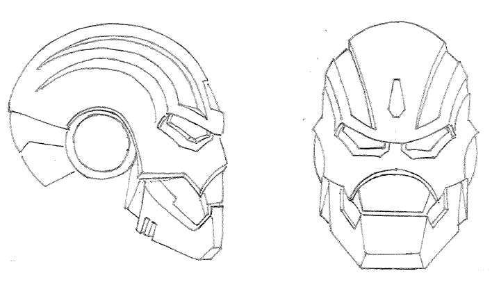 how to draw a iron man helmet how to draw iron man mask step by step marvel characters helmet draw how iron a man to