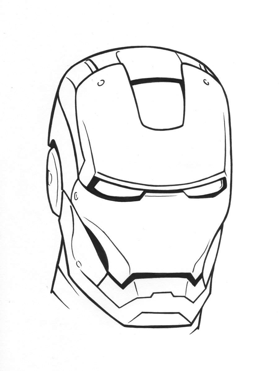 how to draw a iron man helmet how to draw iron man step by step drawingforallnet iron to helmet how a draw man