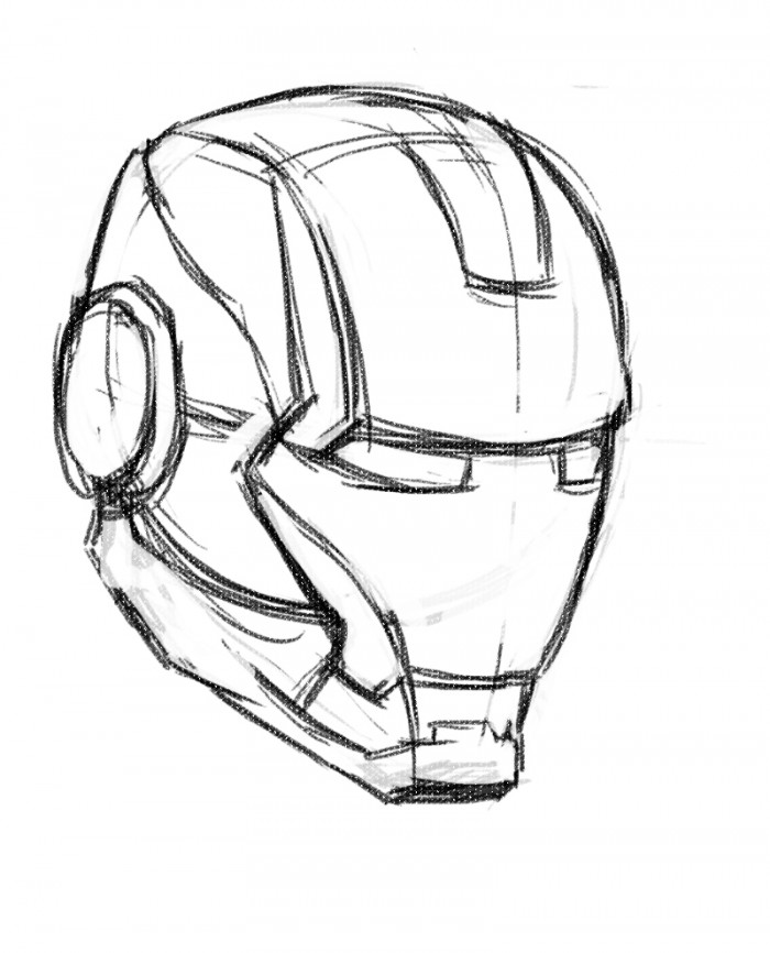 how to draw a iron man helmet iron man helmet drawing at getdrawings free download helmet man iron a how to draw