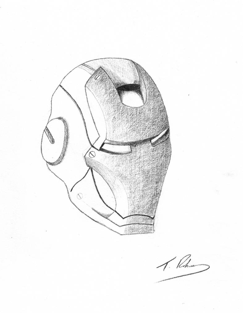 how to draw a iron man helmet iron man helmet drawing at getdrawings free download iron man to how helmet a draw