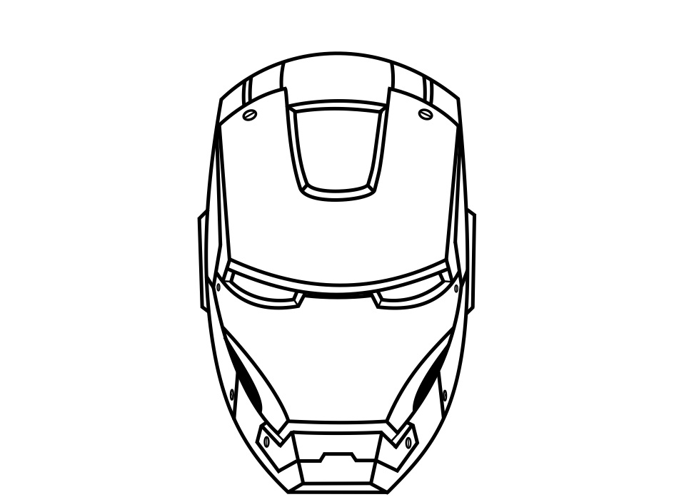how to draw a iron man helmet iron man helmet drawing at getdrawings free download to how a man iron draw helmet