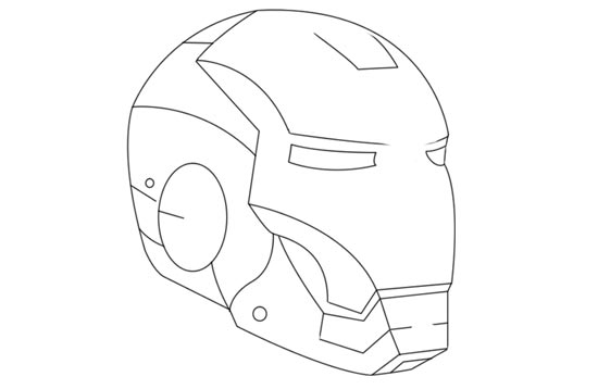 how to draw a iron man helmet iron man mask coloring pages for kids printable free iron how helmet a to draw man