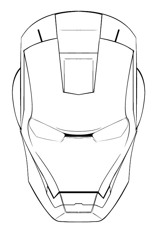 how to draw a iron man helmet ironman template clipart best a helmet to how man draw iron