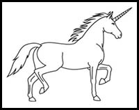 how to draw a realistic unicorn drawn unicorn mythical creature pencil and in color how draw realistic unicorn to a