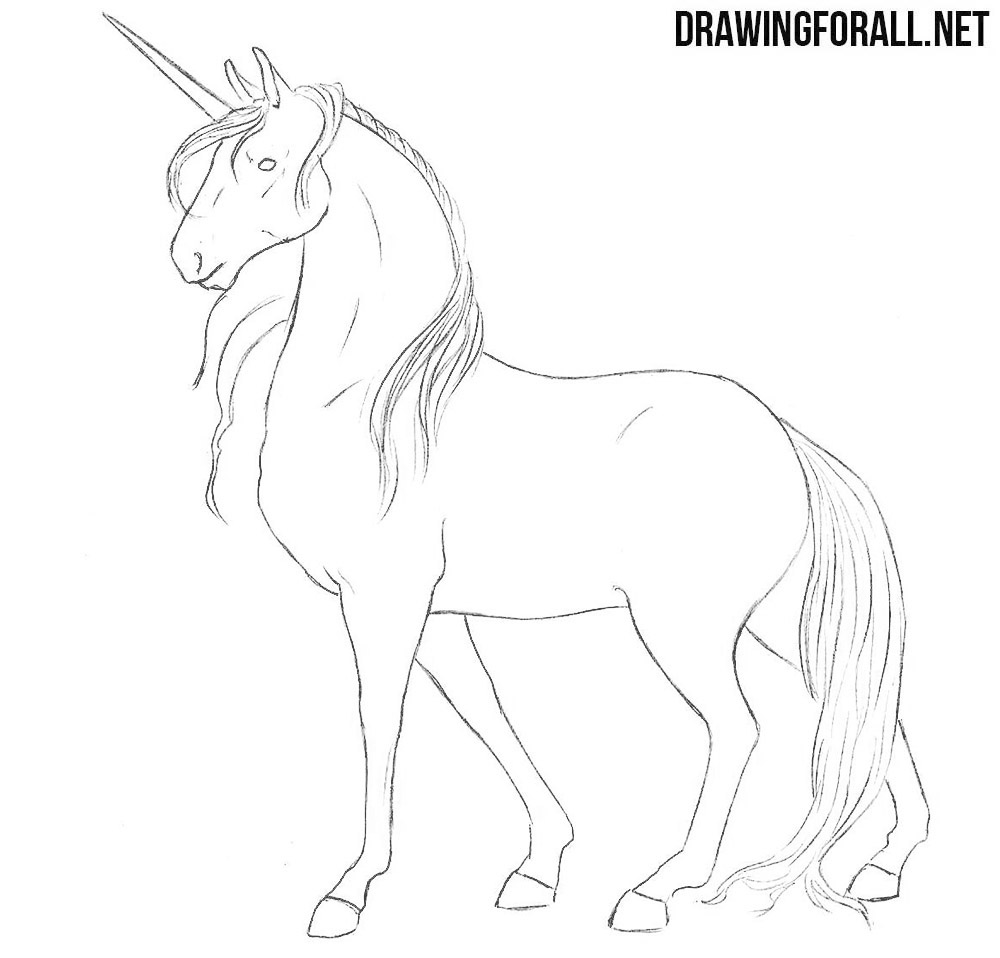 how to draw a realistic unicorn first time draw a realistic unicorn by lanah artz on to realistic unicorn draw a how