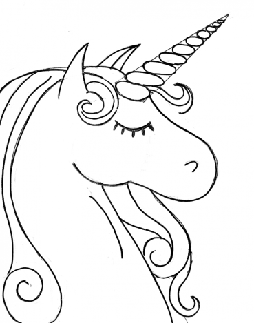how to draw a realistic unicorn how to draw a unicorn drawingforallnet unicorn to a how draw realistic