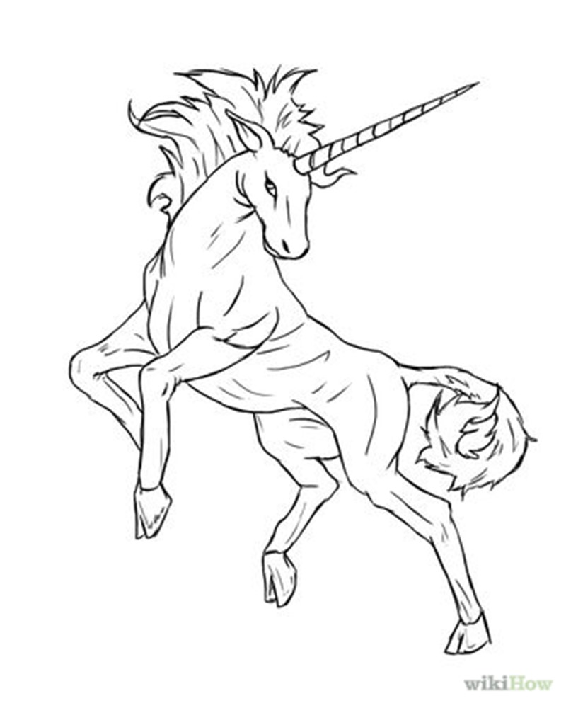 how to draw a realistic unicorn how to draw a unicorn step by step easy unicorn drawing guide how a to unicorn realistic draw