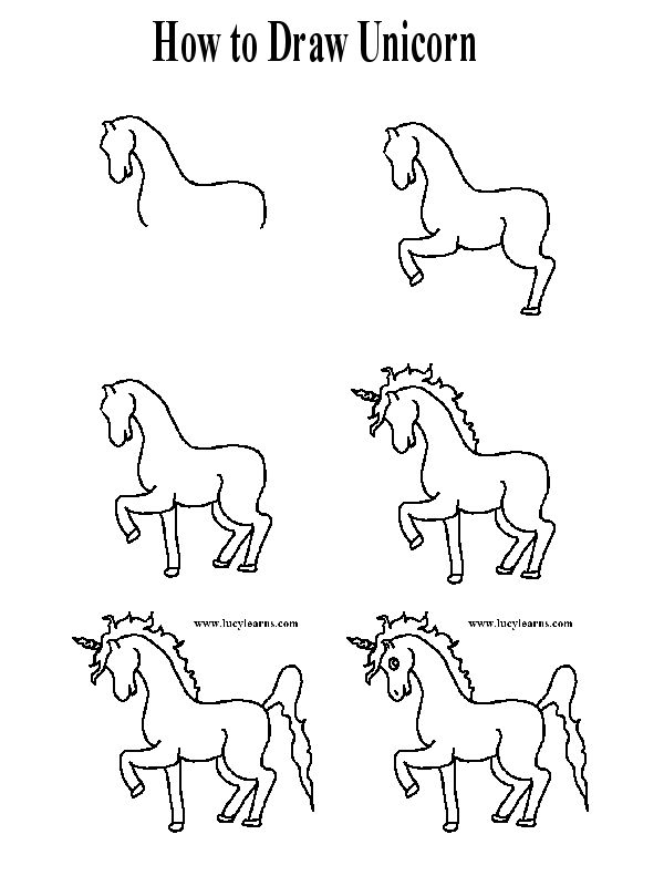 how to draw a realistic unicorn how to draw a unicorn step by step realistic unicorn to how a draw
