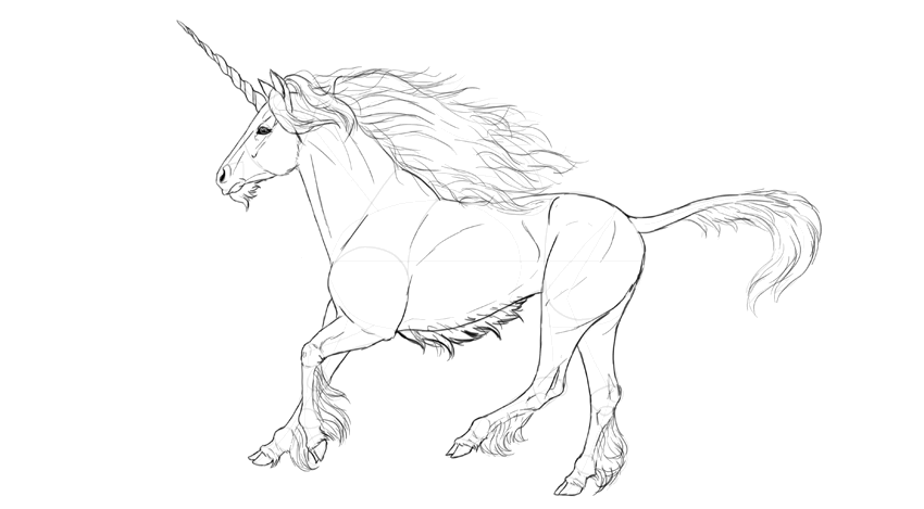 how to draw a realistic unicorn realistic unicorn drawings unicorn drawing in pencil draw a realistic to how unicorn