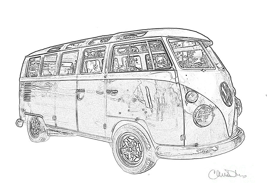 how to draw a volkswagen bus blank bus for artwork vw bus pinterest buses a volkswagen to draw how bus