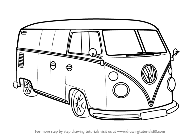 how to draw a volkswagen bus how to draw a volkswagen bus google search volkswagen how a to draw volkswagen bus