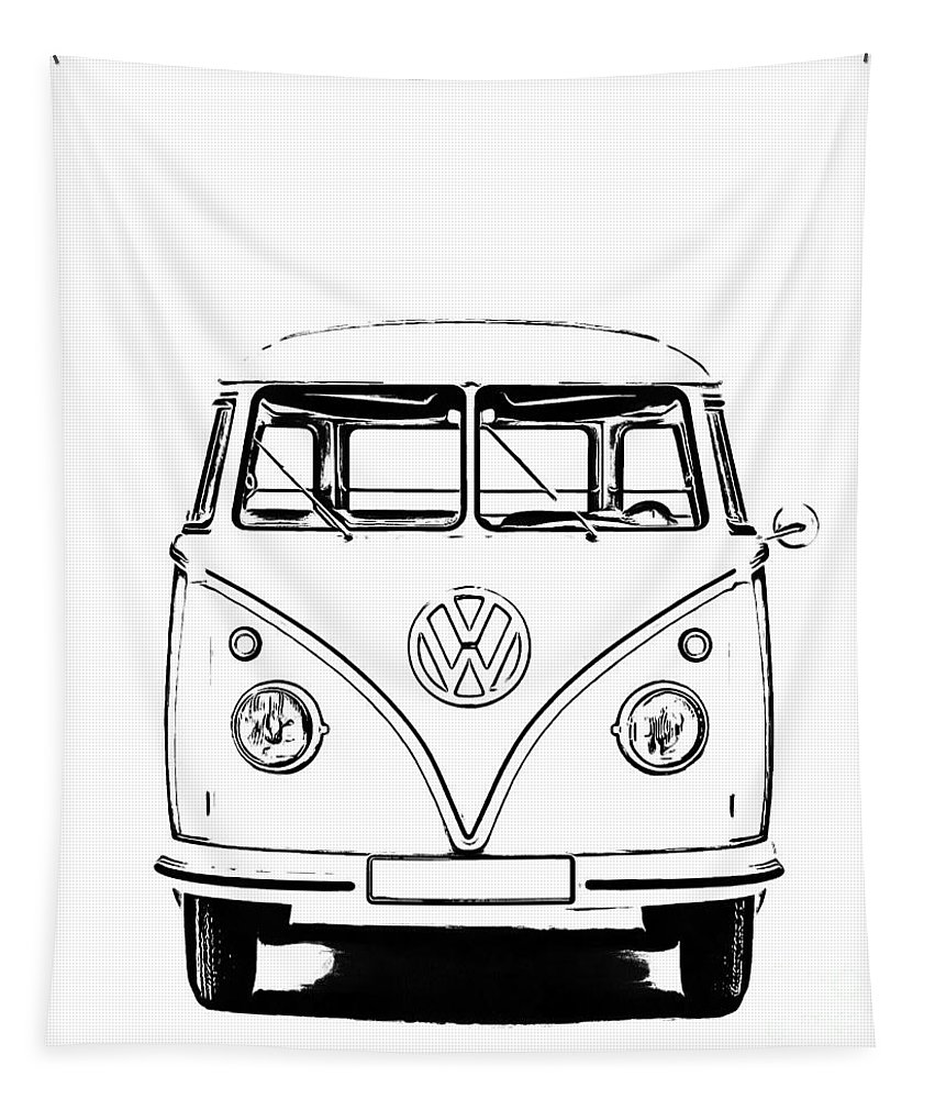 how to draw a volkswagen bus v w bus drawing by murphy elliott a draw volkswagen bus to how