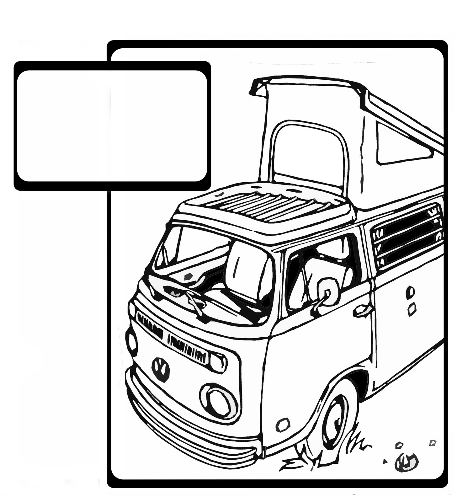 how to draw a volkswagen bus volkswagen bus drawing at getdrawings free download volkswagen draw bus a to how