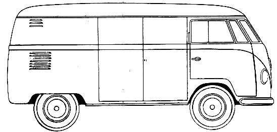 how to draw a volkswagen bus volkswagen van drawing at getdrawings free download a bus to draw volkswagen how