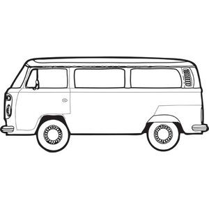 how to draw a volkswagen bus vw camper van on behance vw camper camper drawing a how volkswagen draw bus to