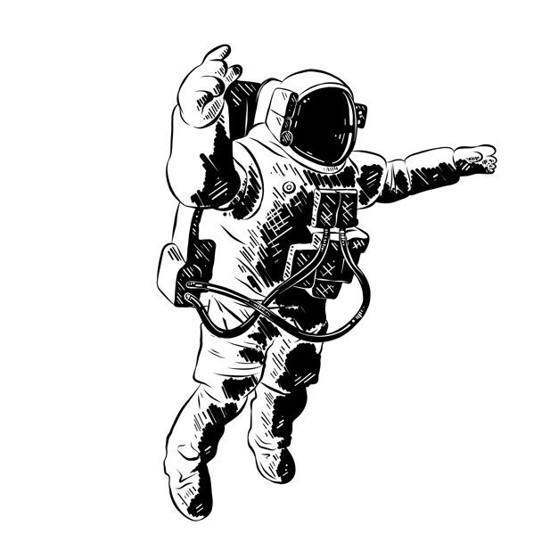 how to draw an astronaut pin by elizabeth ortega on things that i like astronaut draw an astronaut to how