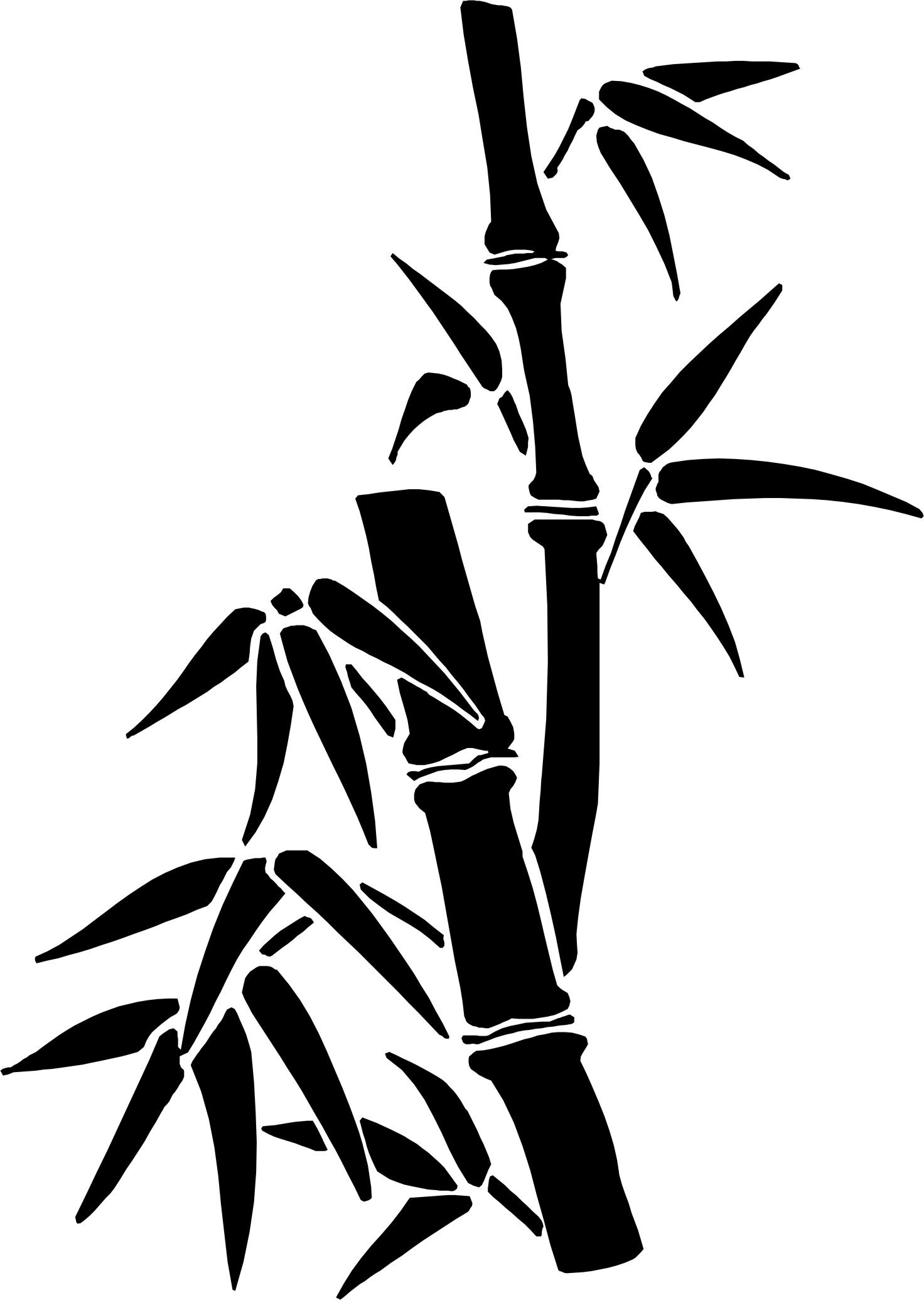how to draw bamboo leaves bamboo bamboo drawing bamboo art chinese drawings bamboo how leaves draw to