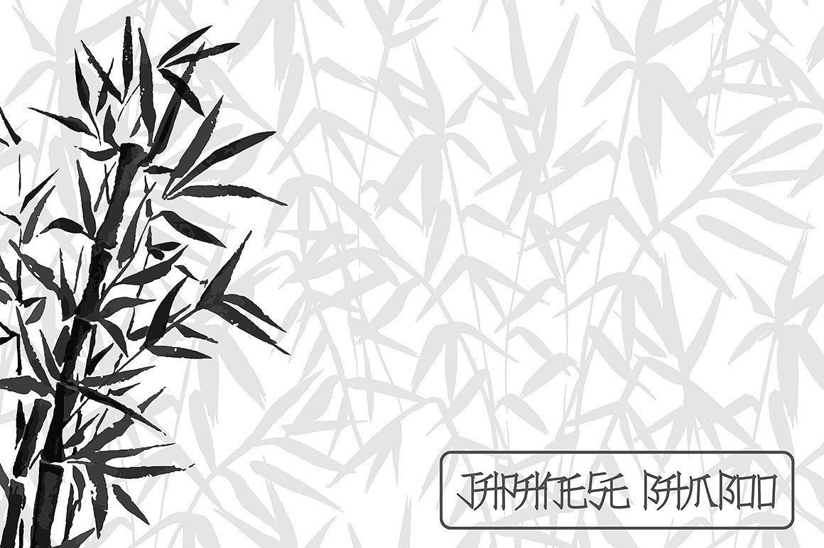how to draw bamboo leaves japanese bamboo collection japanese bamboo japanese draw how leaves to bamboo