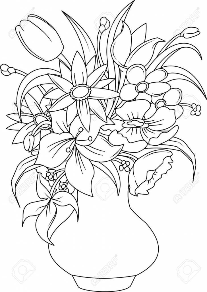 how to draw bunch of flowers step by step bunch of flowers drawing at getdrawings free download to of how step bunch flowers draw step by