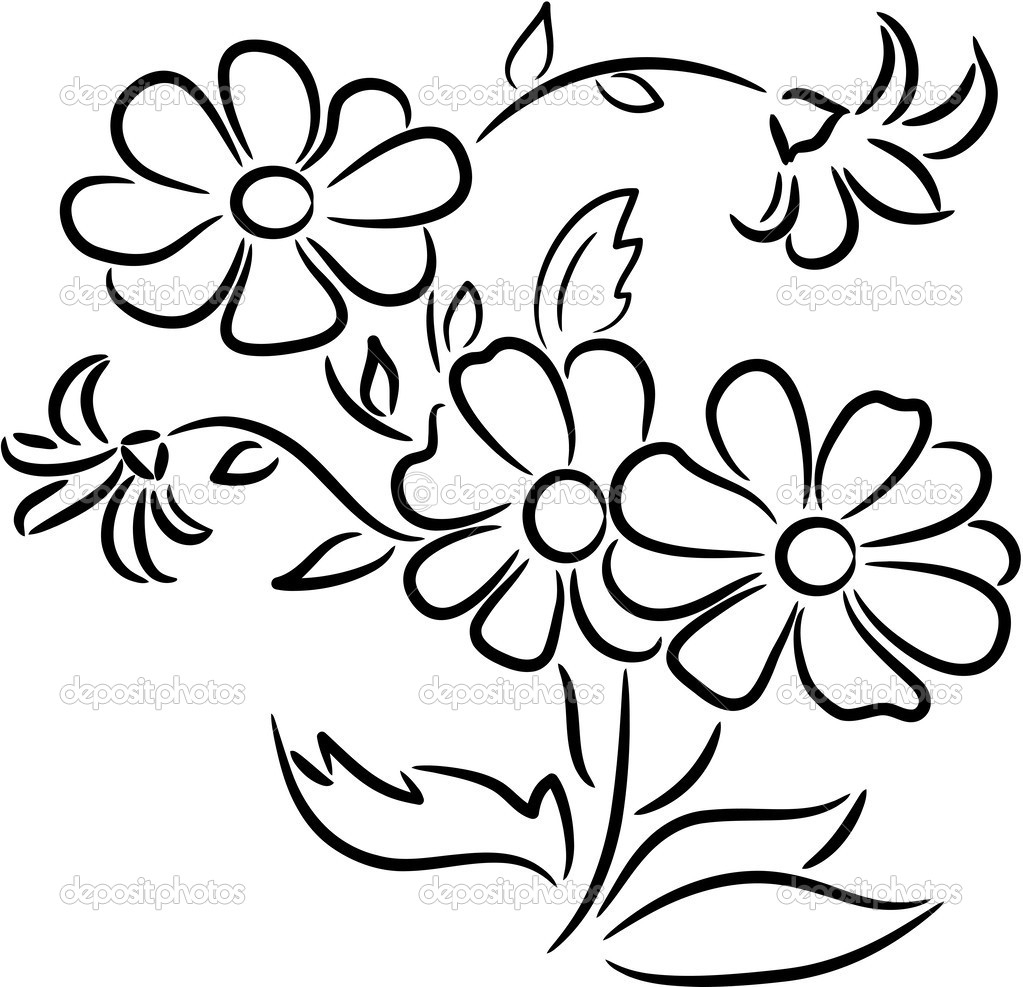 how to draw bunch of flowers step by step easy drawings of flowers free download on clipartmag of by bunch step step to draw how flowers