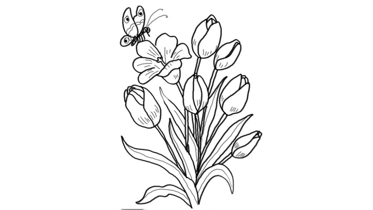 how to draw bunch of flowers step by step how to draw a cute flower bunch step by step drawing bunch how flowers step draw of to step by