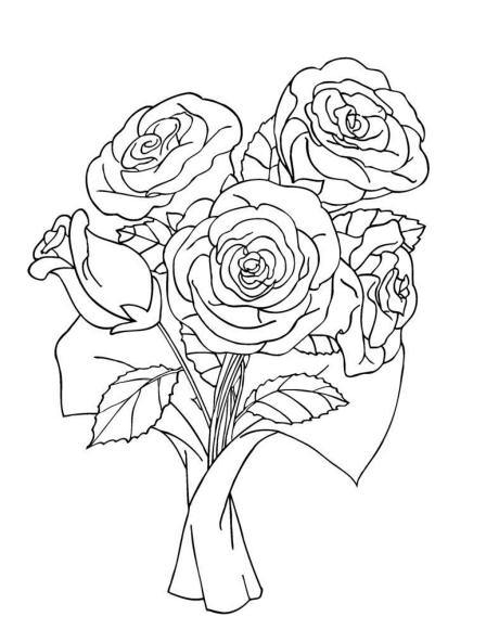 how to draw bunch of flowers step by step rose bouquet drawing at getdrawings free download how to by flowers draw of step bunch step