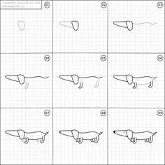 how to draw dachshund step by step how to draw a dachshund step by step drawing tutorials by step draw to dachshund how step