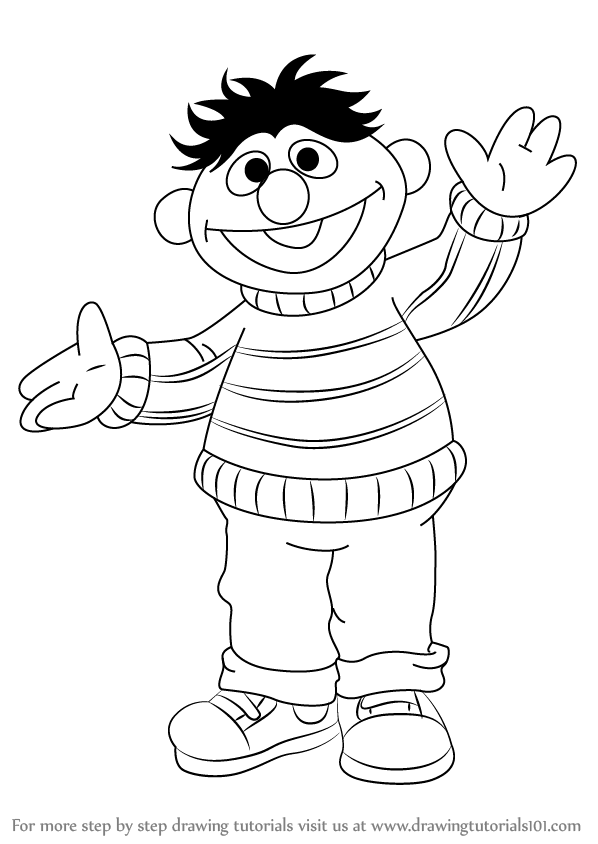 how to draw elmo easy barney drawing at getdrawings free download easy draw elmo how to