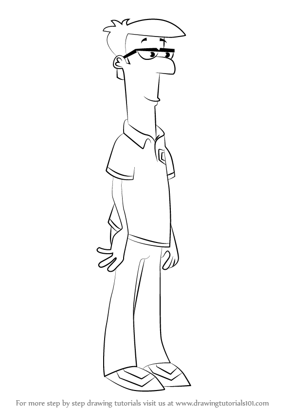 how to draw ferb learn how to draw phineas flynn from phineas and ferb ferb to how draw