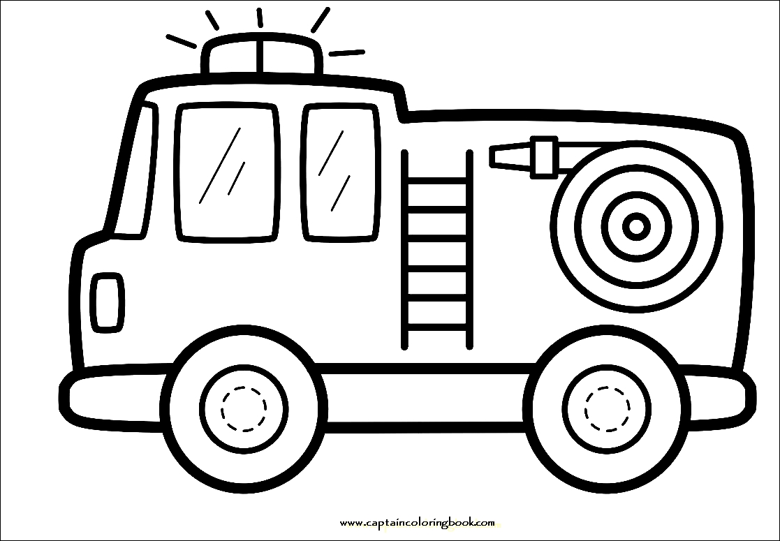 how to draw fire engine coloring fire engine picture how to engine fire draw