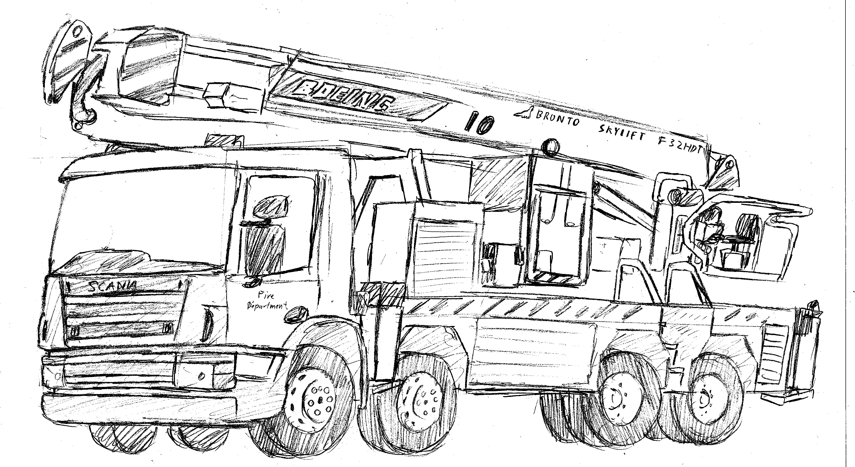 how to draw fire engine fire truck by dragonslayersair on deviantart engine draw how fire to