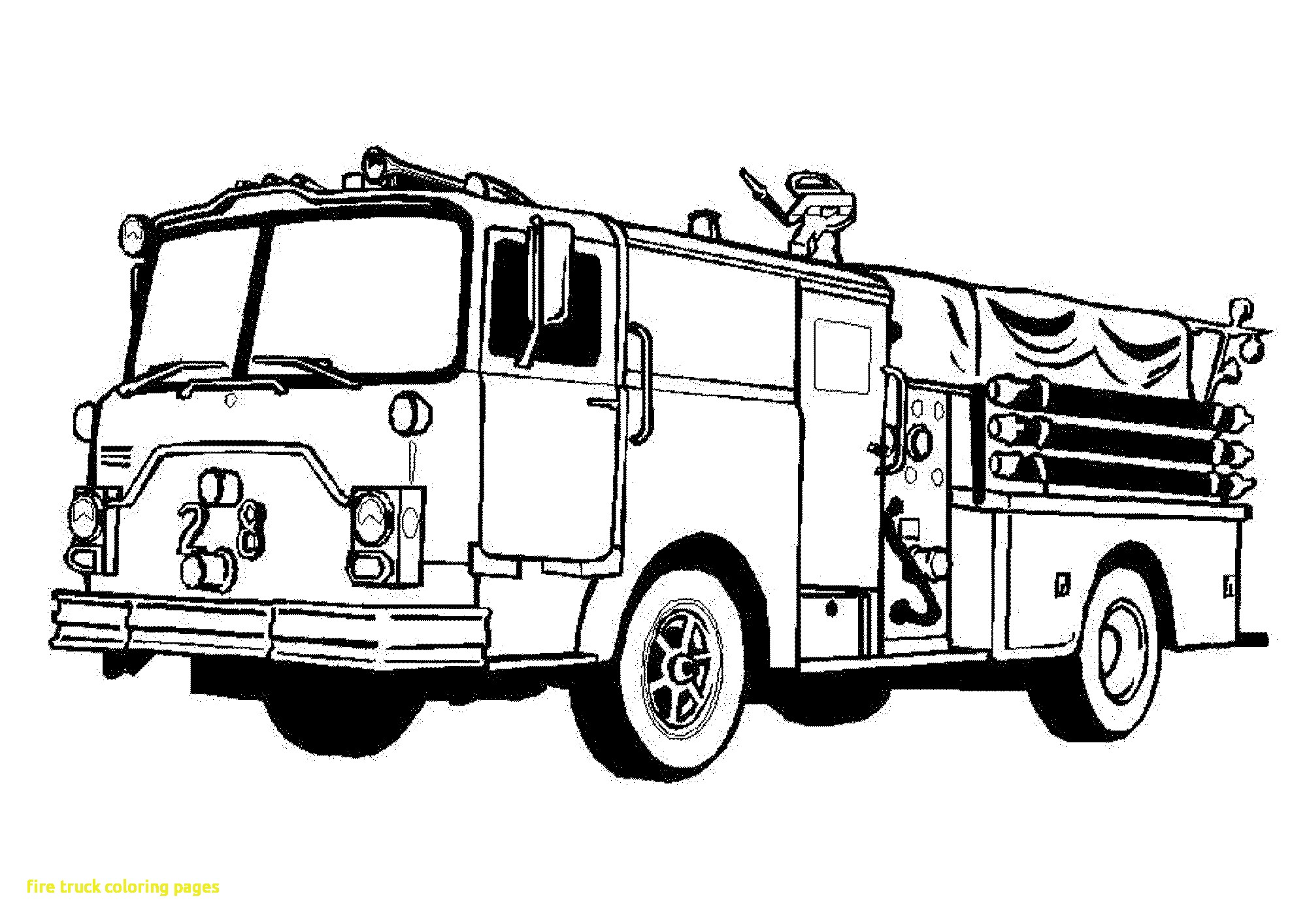 how to draw fire engine fire truck drawing pictures at getdrawings free download draw how to fire engine