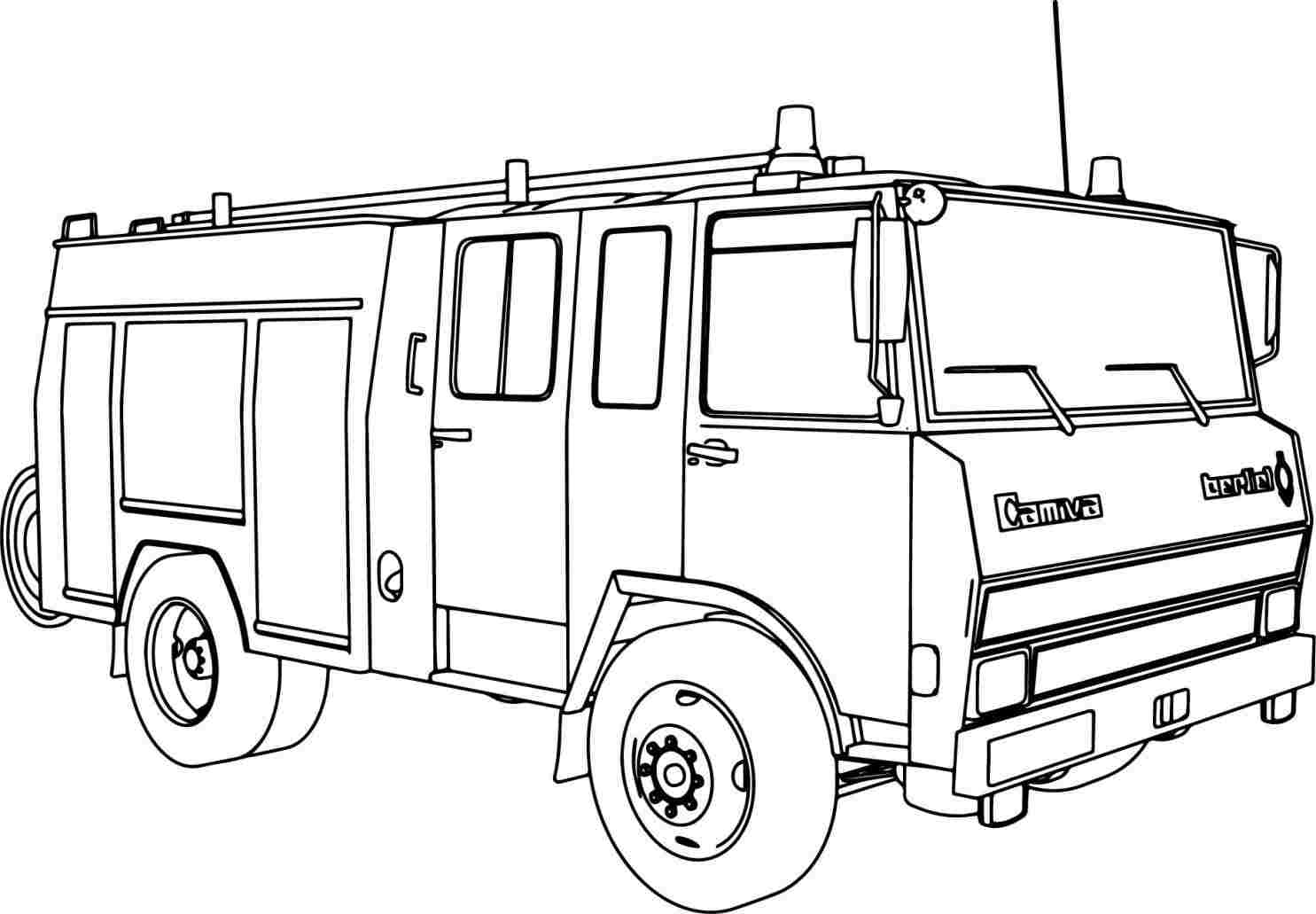 how to draw fire engine fire truck drawing pictures at getdrawings free download how fire engine to draw
